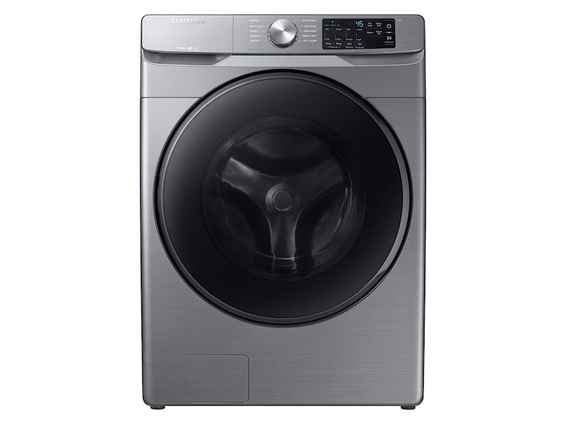 Samsung4.5 Cu. Ft. Front Load Washer With Steam In Platinum