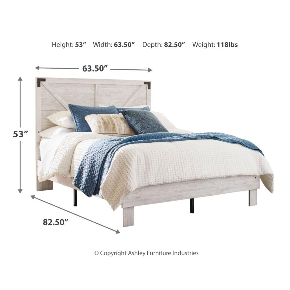 Product Image - Shawburn Queen Panel Platform Bed