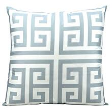 "Outdoor Pillows As047 Grey 20"" X 20"" Throw Pillow"