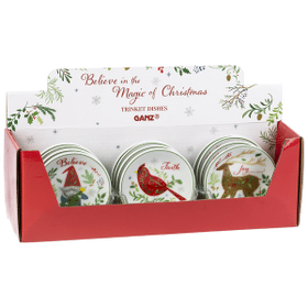 Trinket Dishes with Display (12 pc. ppk.)