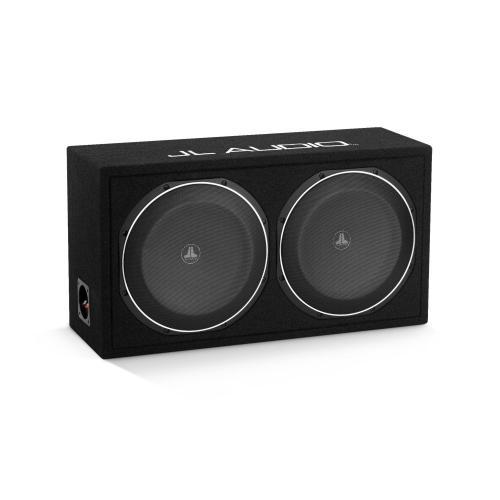 JL Audio - Dual 12TW1 PowerWedge, Sealed, 2