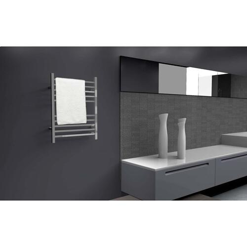 The Radiant Square Hardwired - Polished Stainless