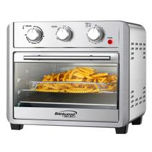 View Product - Coming Soon - Brentwood Select AF-2410S 24-Quart Convection Air Fryer Toaster Oven, Dehydrate, Broil, Bake, with 60 Minute Timer, Stainless Steel