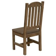 Cathedral Side Chair - Barn Brown - Wood seat