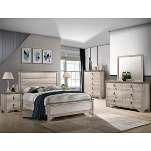 Patterson King Panel Bed Hb/fb