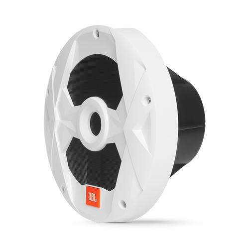 "Club Marine MS10LW 10"" (250mm) marine audio subwoofer with RGB lighting - White"
