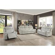 Double Lay Flat Reclining Love Seat Product Image