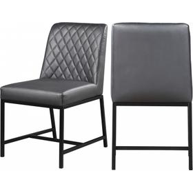 """Bryce Faux Leather Dining Chair - 18.5"""" W x 22.5"""" D x 35"""" H"""