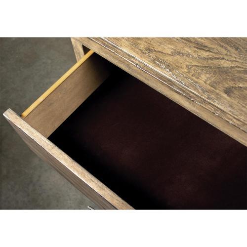Milton Park - Three Drawer Nightstand - Primitive Silk Finish