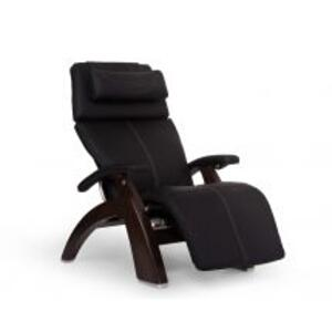 Perfect Chair ® PC-600 Omni-Motion Silhouette - Black SofHyde - Dark Walnut