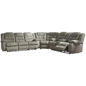 Mccade 3-piece Reclining Sectional