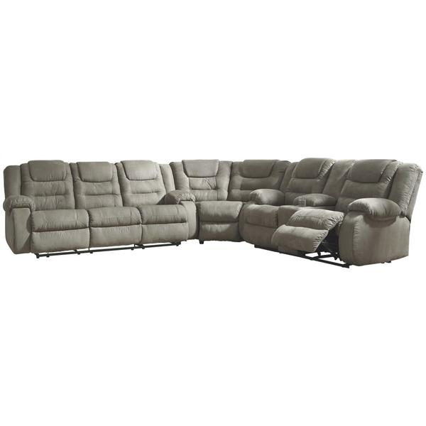 See Details - Mccade 3-piece Reclining Sectional