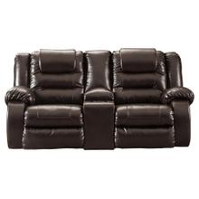 Vacherie Reclining Console Loveseat