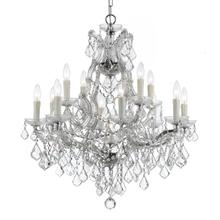 Maria Theresa 13 Light Spectra Crystal Chrome Chandelier