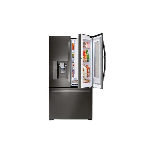 ***DISPLAY MODEL CLOSEOUT*** 24 cu. ft. Smart wi-fi Enabled InstaView Door-in-Door® Counter-Depth Refrigerator