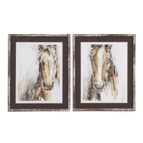 2 PC Gift Horse