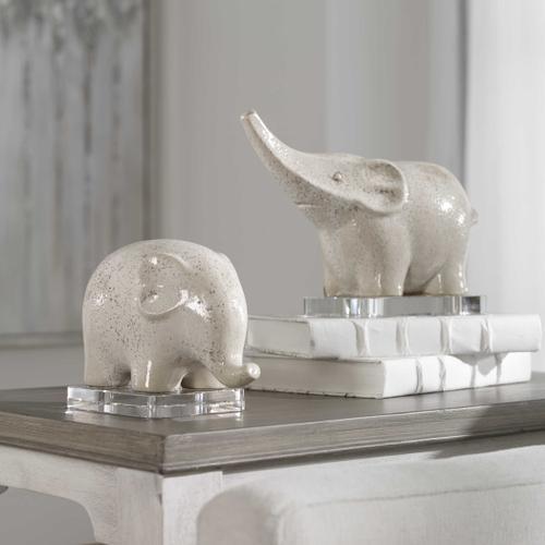 Uttermost - Kyan Elephant Sculptures, S/2