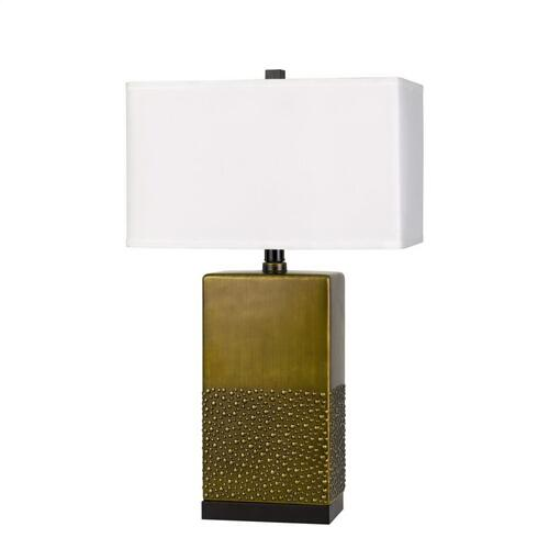 150W 3 Way Genoa Ceramic Table Lamp