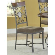 Alabaster Metal Dinette : Alabaster Side Chair