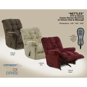 Chaise Rocker Recl w/Deluxe Heat/Massage