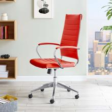 See Details - Jive Highback Office Chair in Red