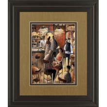 """""""Cafe"""" By Didier Lourenco Framed Print Wall Art"""