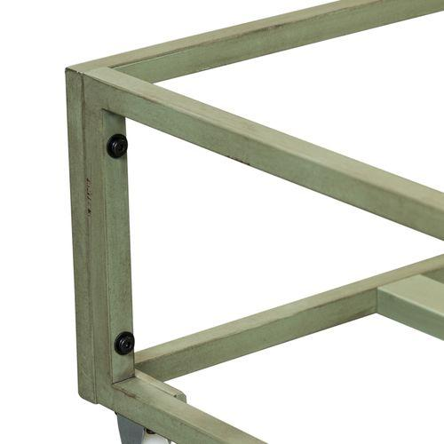 Gallery - Twin Metal Trundle - Green