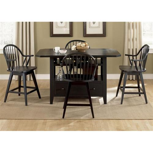 Liberty Furniture Industries - Center Island Table Top - Black