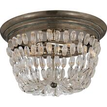 Visual Comfort CHC4207SHS-SG E F Chapman Paris Flea Market 2 Light 13 inch Sheffield Silver Flush Mount Ceiling Light