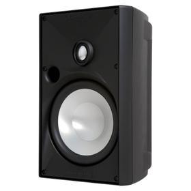 OE6 Three Black, Indoor/Outdoor Speaker