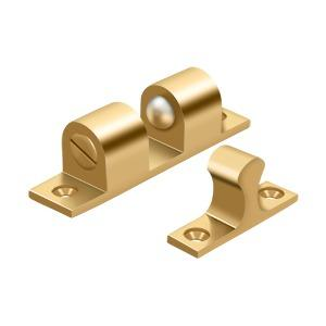 """Deltana - Ball Tension Catch 3"""" x 3/4"""" - PVD Polished Brass"""