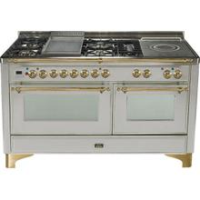 Inch Stainless Steel Dual Fuel Freestanding Range