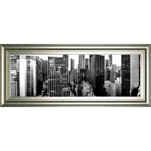 """""""Panorama Of NYC VIl"""" By Jeff Pica Framed Print Wall Art"""