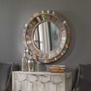 Jeremiah Round Mirror Product Image