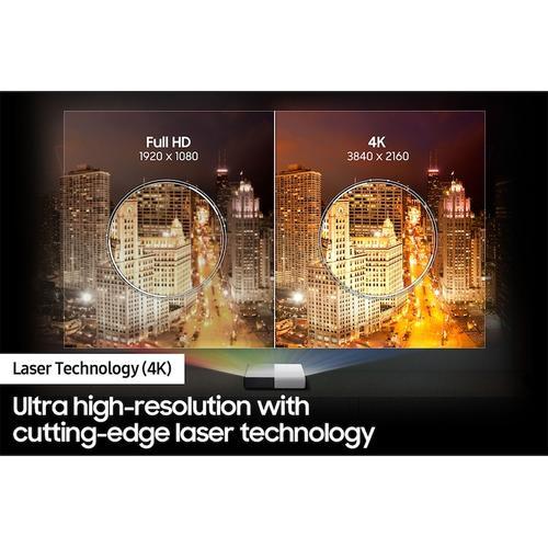 "Samsung - 120"" Class The Premiere LSP7T 4K Smart Laser Projector"