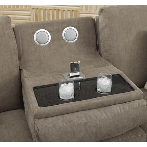 Reclining Sofa w/Trays