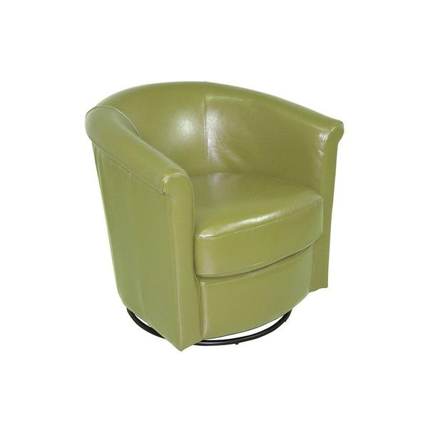 Marvel Lime Green Swivel Chair, AC211