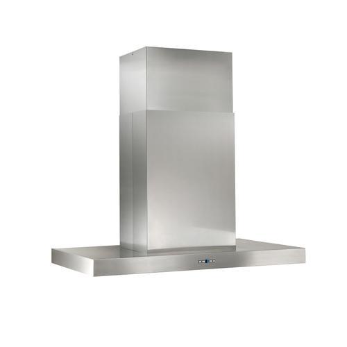Gallery - 48-inch Island Range Hood, External Blower, Stainless Steel (IPB9 Series)