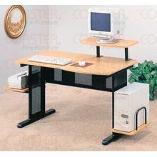 DESK/COMPUTER MTL/BEECH NTL/BLK
