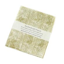 "20"" x 30"" x 3 sheets Off-White Gift Wrap (Woodgrain Option)"