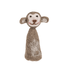 Woolen Monkey Finger Puppet.