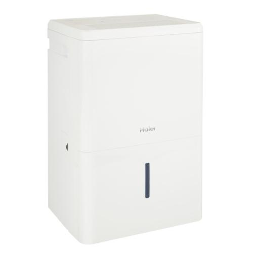 Haier® ENERGY STAR® 50 Pint Dehumidifier for Home or Basement with Built-in Pump, Large, White