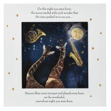 Shadow Box Wall Plaque - Giraffes