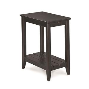 Null Furniture Inc - Chairside End in Black       (6618-07B,52871)