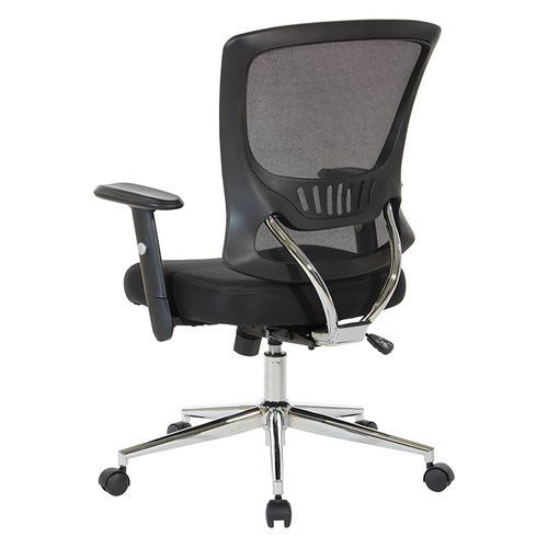 Office Star - Mesh Back & Seat Locking Tilt Task Chair
