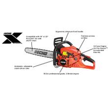 See Details - CS-501P Rear Handle Chainsaw ECHO X Series