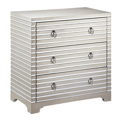 Stein World - Foxy 3-drawer Mirrored Chest