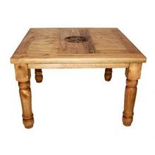 """48"""" Square Table W/star On Top"""