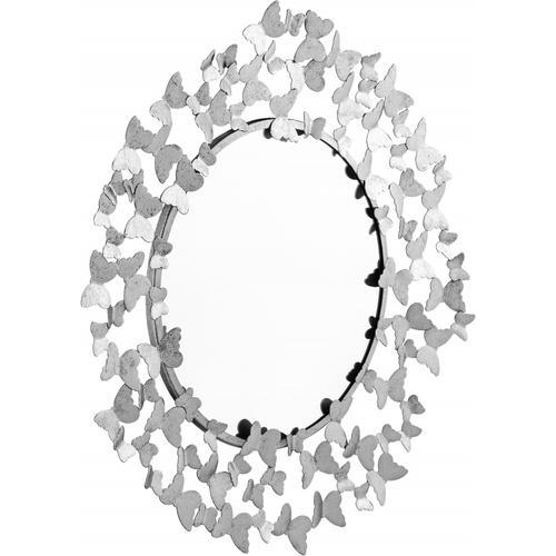 """Butterfly Mirror - 36"""" W x 2"""" D x 36"""" H"""