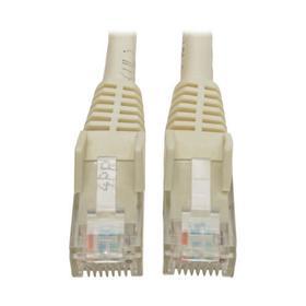 Cat6 Gigabit Snagless Molded (UTP) Ethernet Cable (RJ45 M/M), White, 8 ft.